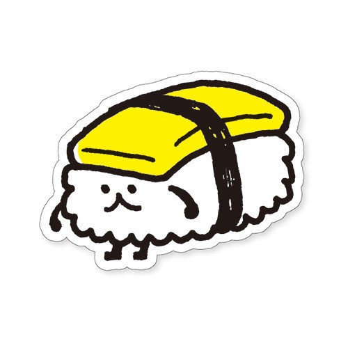 Mind Wave Collection Sticker 'Mini Sushi'