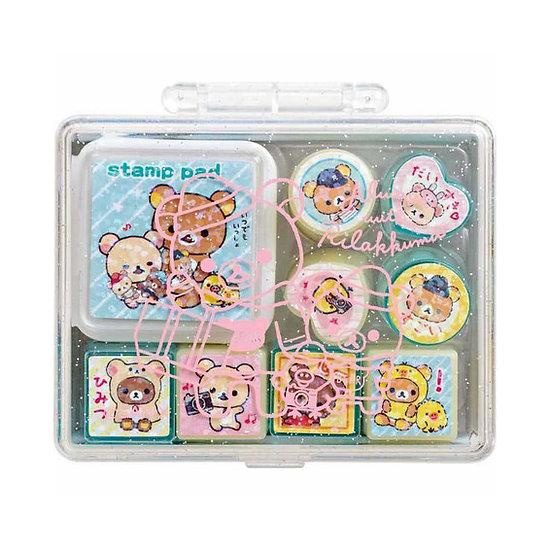 Rilakkuma Stamp Set