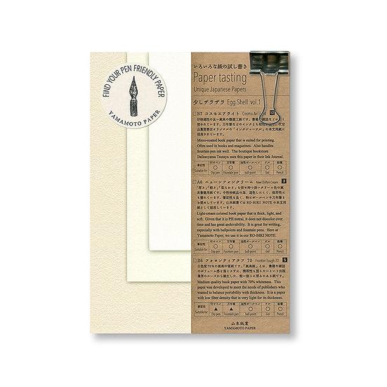 Yamamoto Paper Paper Tasting