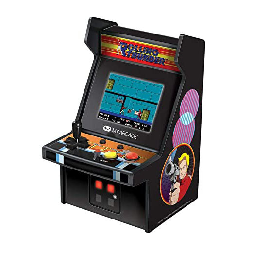 My Arcade 'Rolling Thunder' Micro Player Console