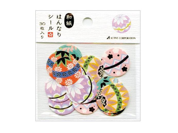 Hanji Stickers Temari Ball