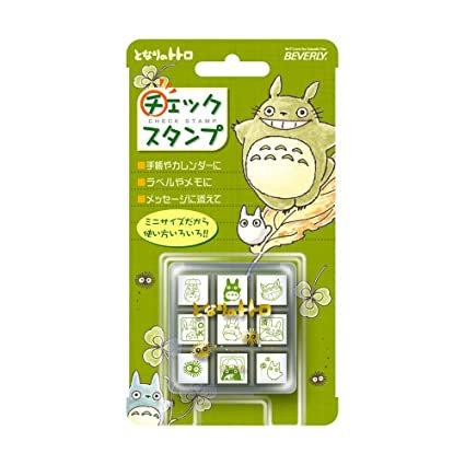 Studio Ghibli 'My Neighbor Totoro' Mini Rubber Stamp Set (x9 Stamps)