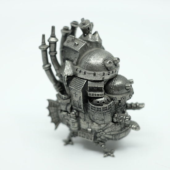 Ghibli Howl's Moving Castle Pewter Mini figure