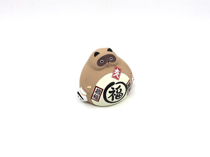 Ceramic Tanuki Lucky Charm/Saving Bank