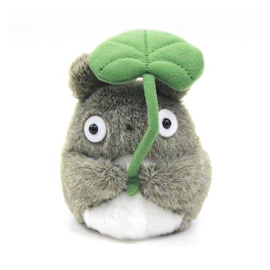 Studio Ghibli 'My Neighbor Totoro' Fluffy Beanbag Totoro Leaf