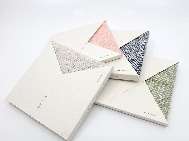 'Caracol' organic cotton handkerchief
