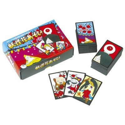 GeGeGe No Kitaro Hanafuda game Japanese playing cards