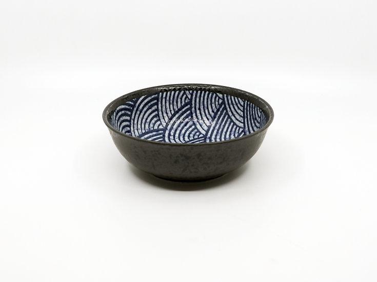 Kakuni Pottery Wave Bowl