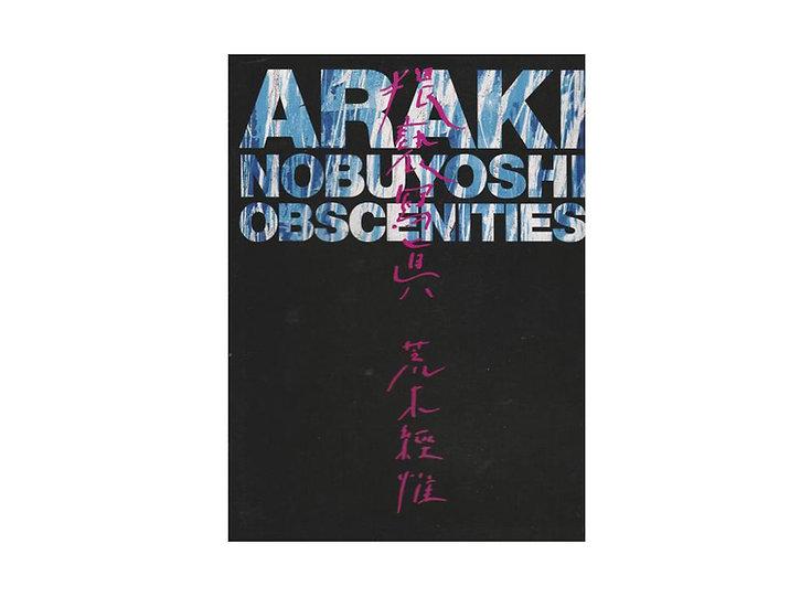Nobuyoshi Araki 'Obscenities
