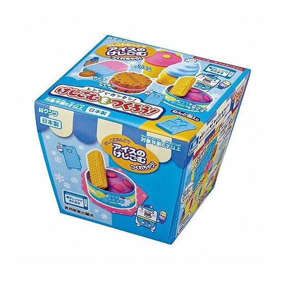 Kutsuwa DIY Eraser Making Kit Ice