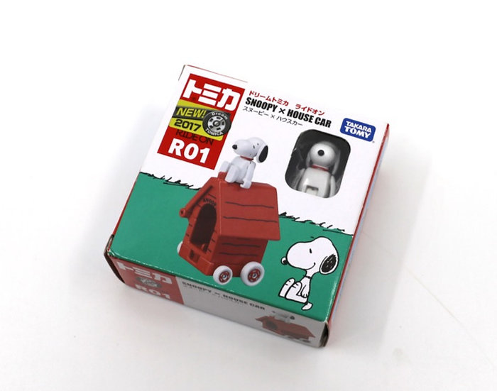 Snoopy Tomica with house
