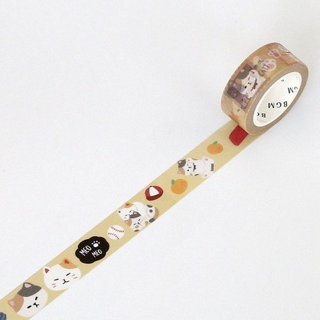 Washi Tape Mike cat