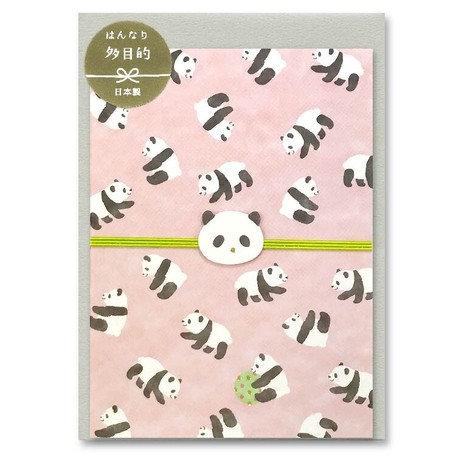 Card Panda Bear Mizuhiki