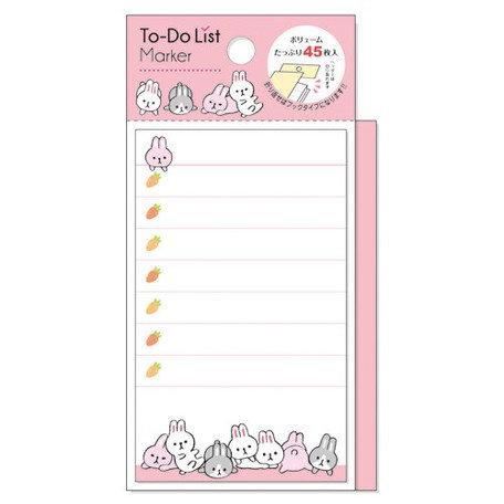Sticky Note To Do List Rabbit
