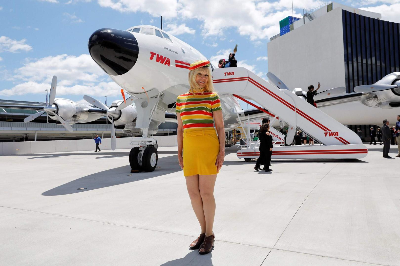 TWA Connie Cocktail Server Uniform