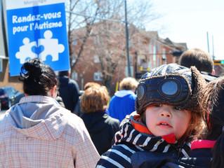Marcher pour l'autisme