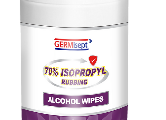Isopropyl Rubbing Alcohol  Canister Wipes 150ct