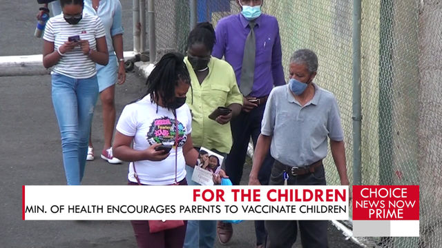 Several children from ages 12 to 17 were vaccinated on live television.