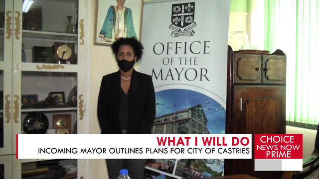 Geraldine Lendor-Gabriel says she is a woman on a mission to transform the capital city.