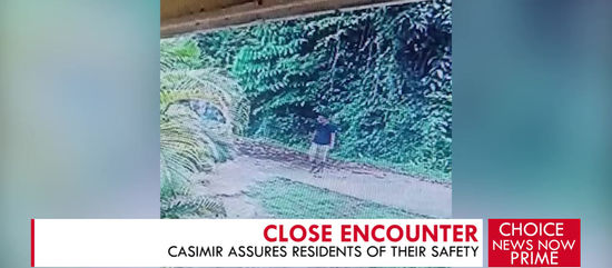 CASIMIR ASSURES RESIDENTS OF THEIR SAFETY
