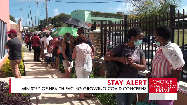Ministry of Health facing growing COVID 19 concerns.