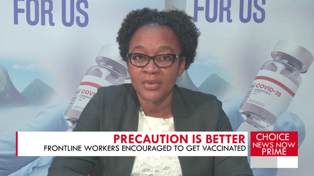 Frontline workers encouraged to get vaccinated