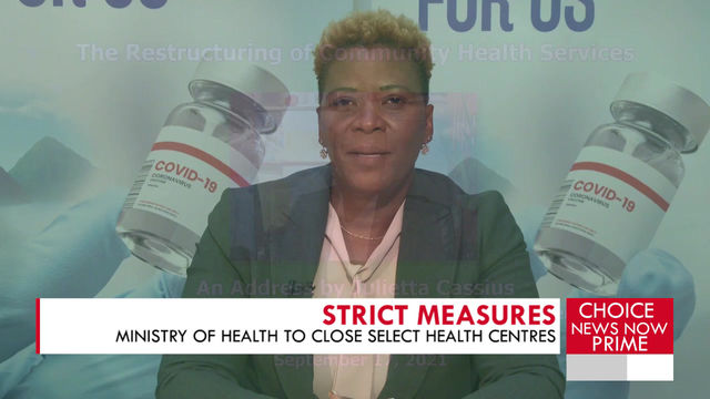 Ministry of Health to close select Health Centres