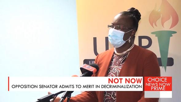 Senator questions the decision to decriminalize breaches of COVID protocols.