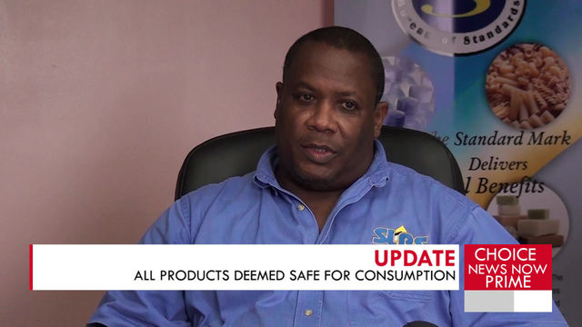 All products deemed safe for consumption