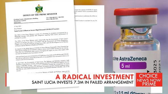 Saint Lucia invests $7.3 million in a failed vaccine procurement deal