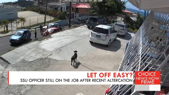 SSU Officer still on the job after recent altercation