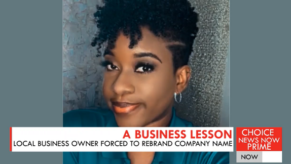 Businesswoman in Saint Lucia threatened with legal action if she does not rebrand her business.