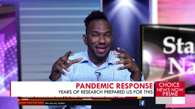 Saint Lucian virologist and immunologist says years of research prepared us for a pandemic