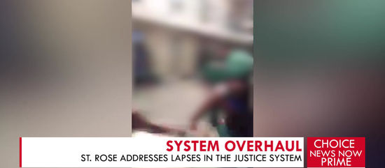 ST. ROSE ADDRESSES LAPSES IN THE JUSTICE SYSTEM