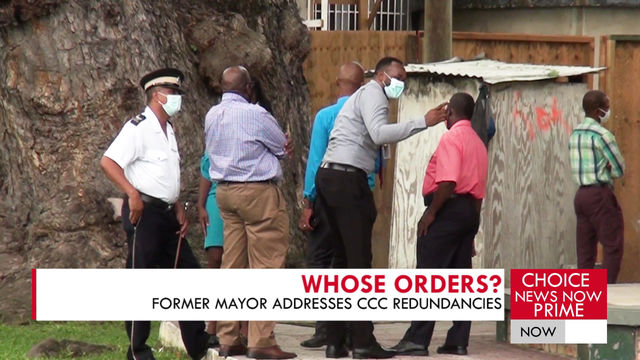 Former Mayor addresses CCC redundancies.
