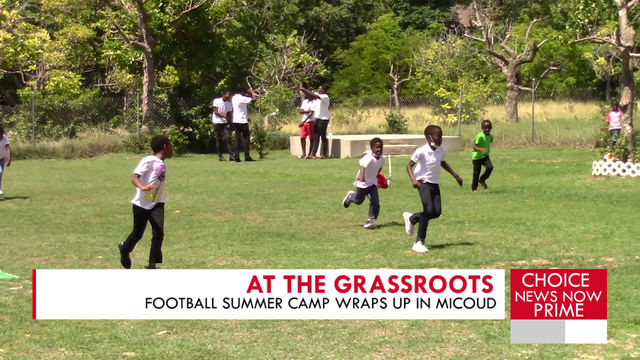 Football Summer Camp wraps up in Micoud