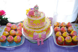 Facebook - Dasia's Naughty Kitty Cake and Cupcakes: Toffee almond cake with almo