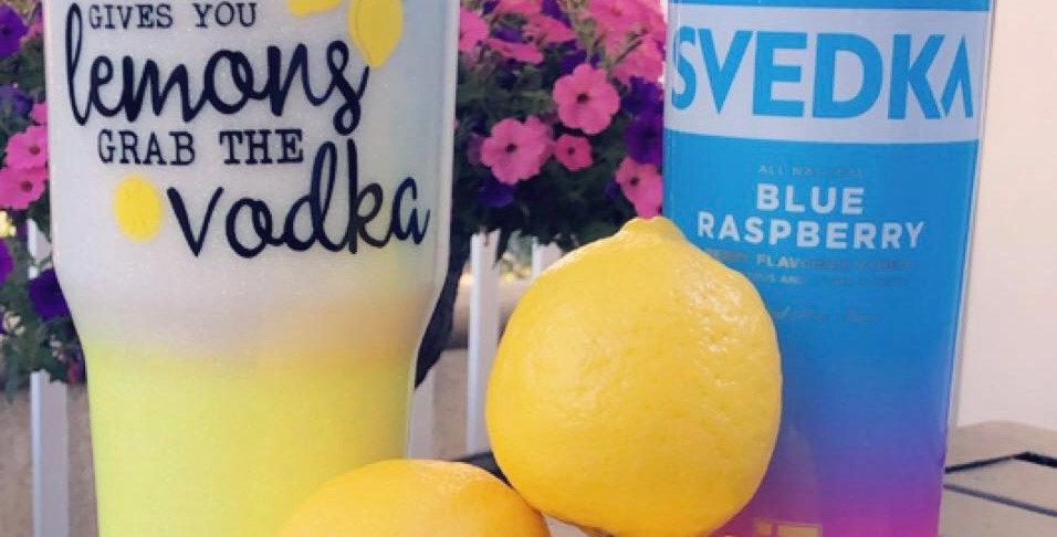 When Life Gives You Lemons, Grab The Vodka Tumbler