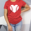 Thumbnail: Baseball Heart Shirt