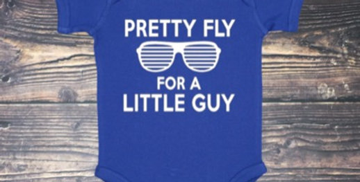 Pretty Fly For A Little Guy Onesie