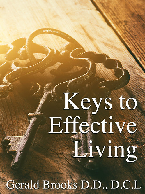 Keys to Effective Living