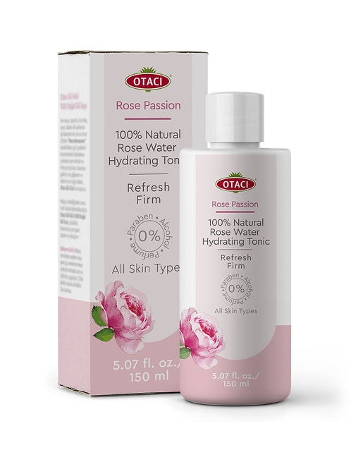 OTACI Rose Passion 100 % Natural Rose Water Hydrating Tonic