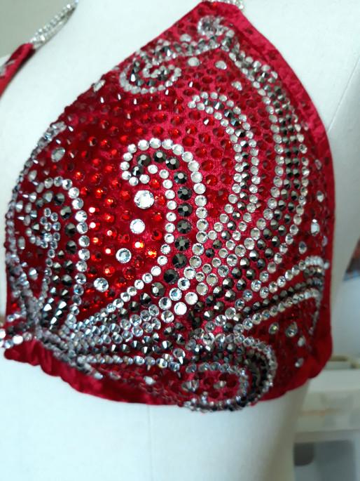 Top 5 swirl crystal bikini designs