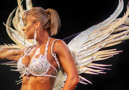 themewear costume: silver Angel