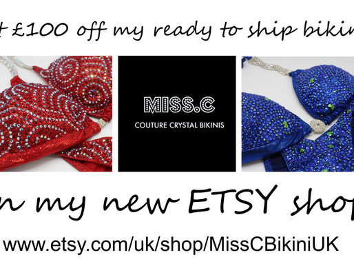 £100 off in etsy shop