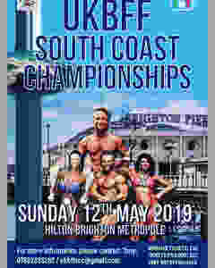 UKBFF South Cpast Championship poster