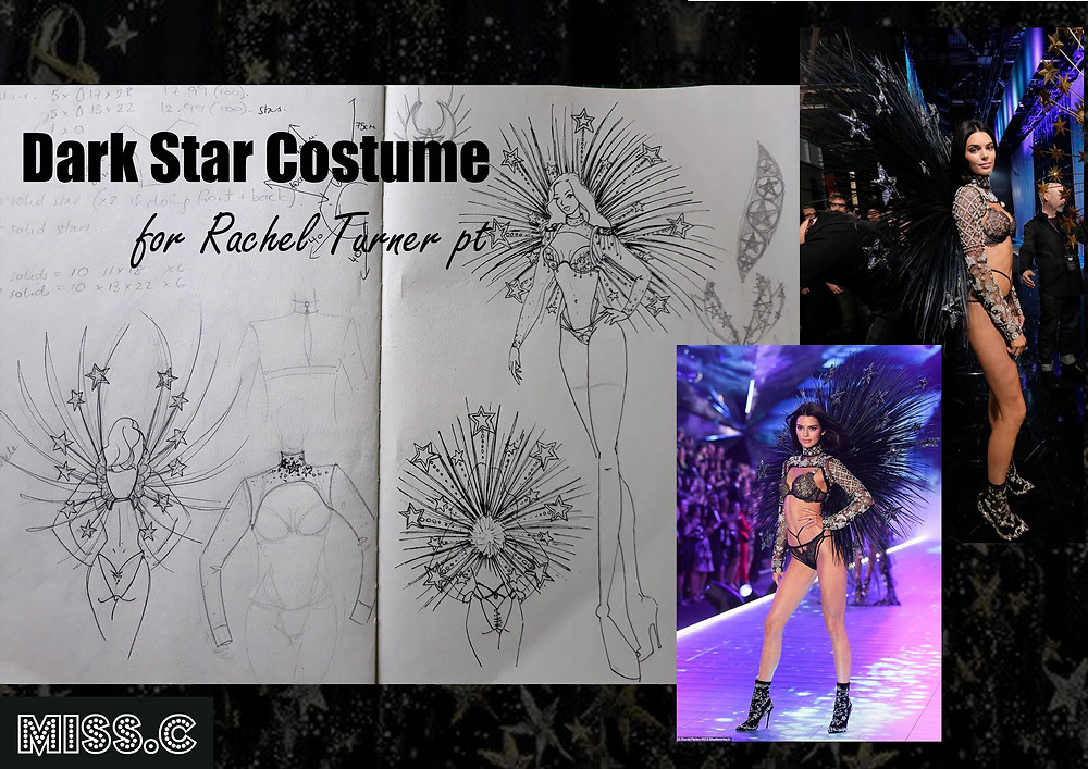 Inspiration and designs for the dark star costume