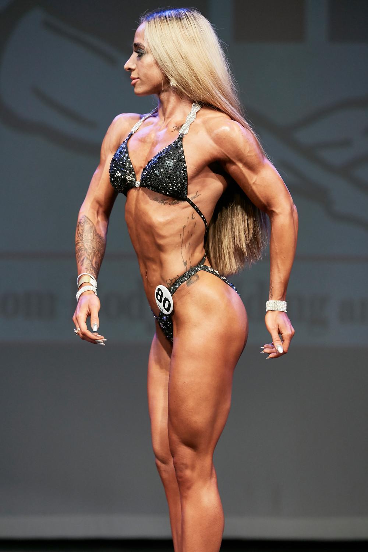 Sasha Zadeh, UKBFF Bodyfitness
