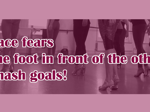 Facing fears, baby steps and smashing goals