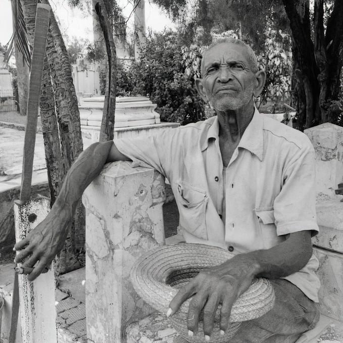 Josa Marti, Mausoleum Worker, Santiago de Cuba